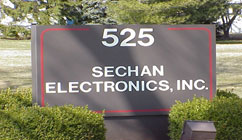 Sechan electronic sign