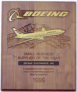 Boeing Small Business Supplier Of The Year